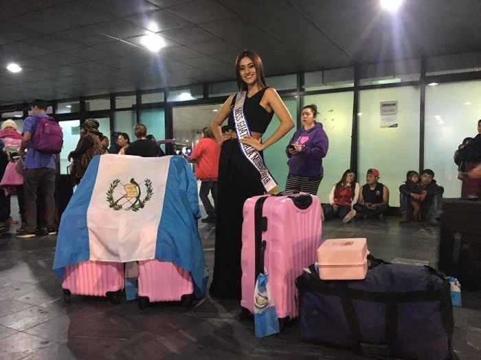 Đại diện của Guatemala là Elizabeth Gramajo, 22 tuổi, cao 1m70. Cô đã hoàn thành chương trình học thư kí song ngữ và hiện đang theo học tâm lí.