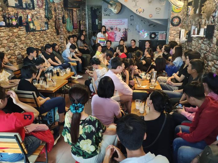 Buổi chia sẻ đã thu hút rất nhiều bạn trẻ và phụ huynh đến tham dự