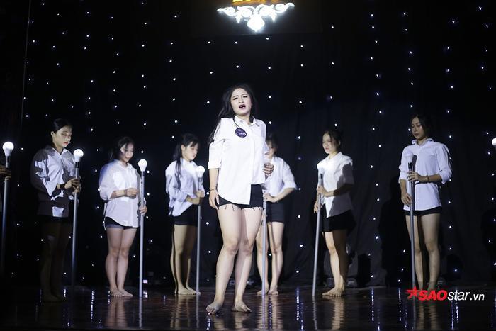 Miss tài năng Hà Thảo Anh trình diễn lại điệu nhảy sôi động