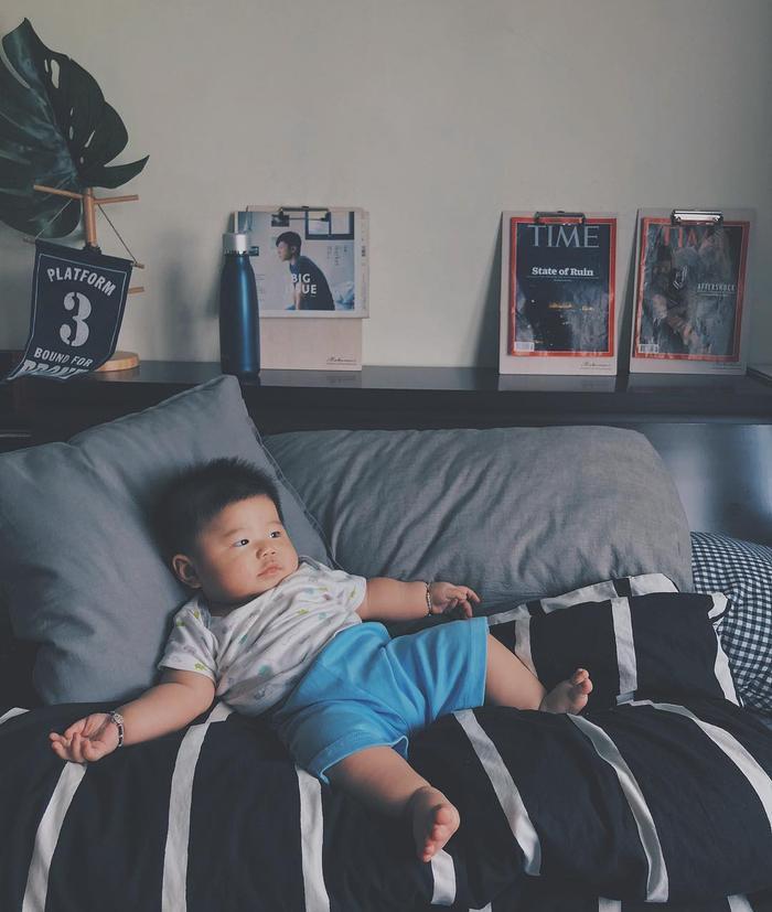 Kai Wang thường xuyên đăng tải khoảnh khắc các nhóc tỳ đáng yêu trên tài khoản của mình