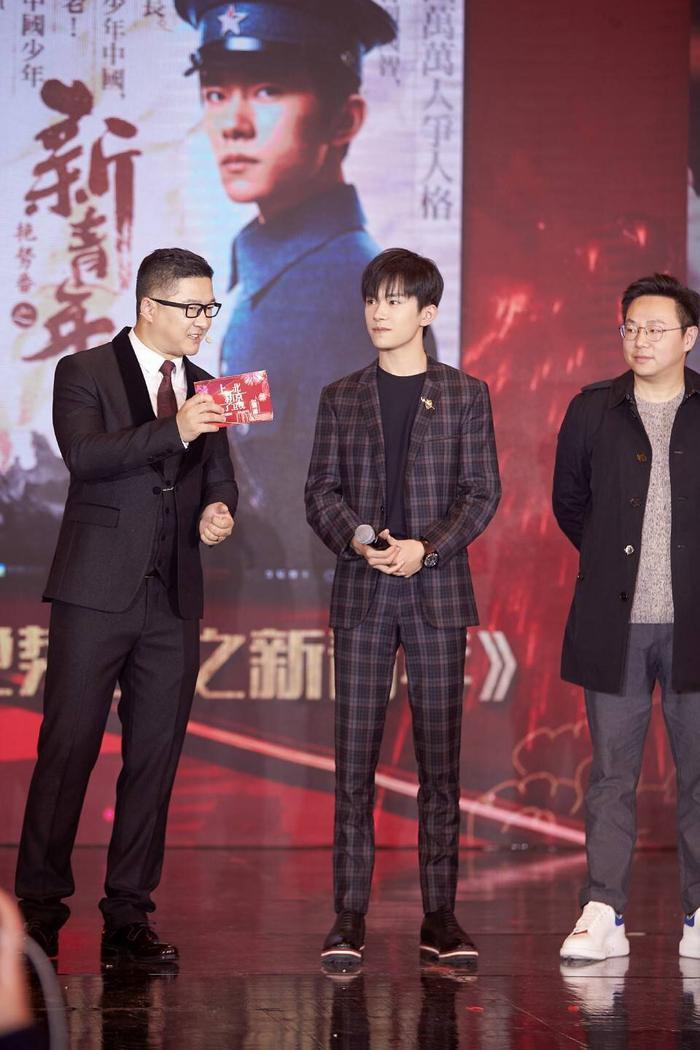 Dịch Dương Thiên Tỉ (TFBOYS) được khen ngợi về diễn xuất tại sự kiện quảng bá Diễm Thế Phiên ảnh 3