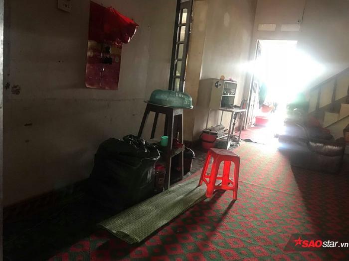 Căn nhà người thân Lê Văn Luyện đang sinh sống.