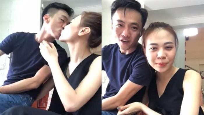 Gần đây, trong một buổi livestream, Cường Đô La thậm chí đã hôn môi và gọi Đàm Thu Trang là vợ.