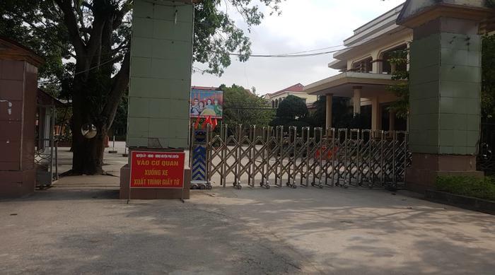 Trụ sở Huyện ủy - UBND huyện Phú Xuyên - (Ảnh: Vietnamnet)