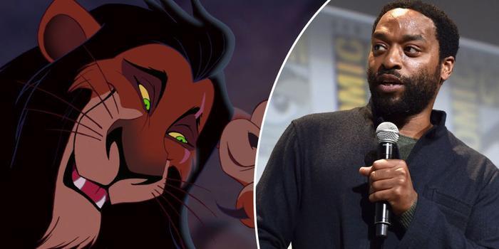 """Sư tử Scar trong """"Lion King 2019"""" sẽ được thể hiện bởi nam diễn viên Chiwetel Ejiofor"""