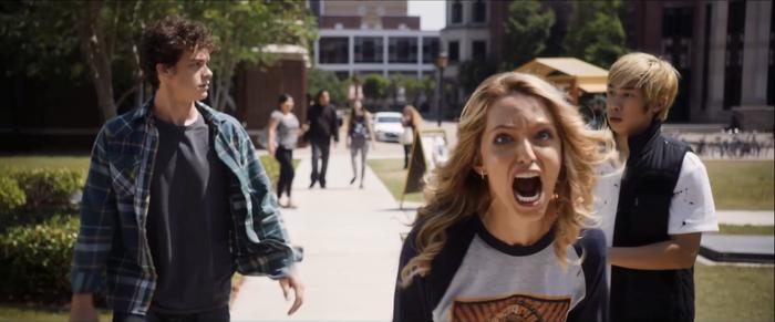 Happy Death Day 2U tung trailer: Nữ chính vẫn chưa thoát khỏi vòng lặp thời gian chết chóc, kéo thêm bạn bè vào ảnh 10