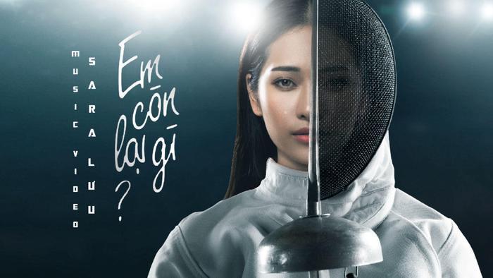 Poster MV Em còn lại gì của Sara Lưu.