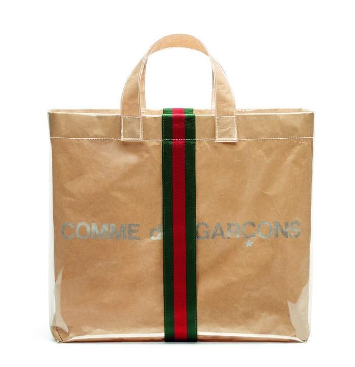Thiết kế túi xách Comme des Garçón X Gucci shopper