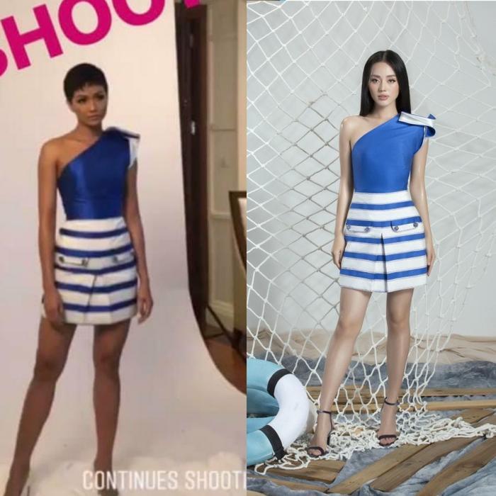 """Với màn """"đụng độ"""" váy áo này, bạn thích ai hơn?"""