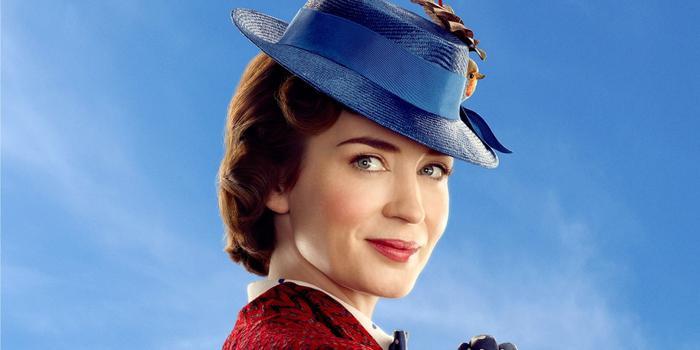 Emily Blunt hoá thân thành Mary Poppins.