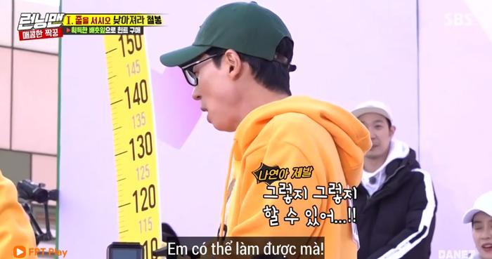 Anh cả Jae Sk tỏ ra lo lắng cho đàn em.