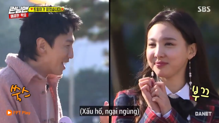 Nayeon thành công đốn gục trái tim Kwang Soo.