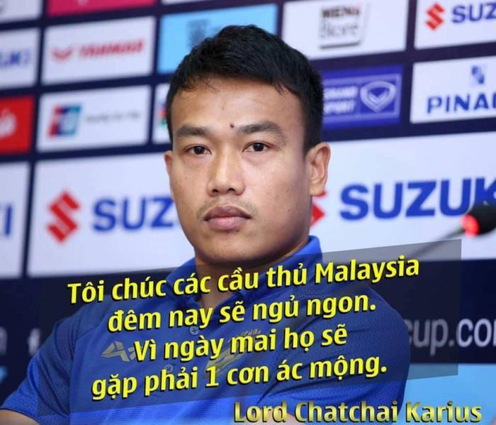 Tuyên bố tự tin của thủ thành người Thái Lan vô tình hại mình, hại đồng đội sau trận đấu gặp Malaysia.