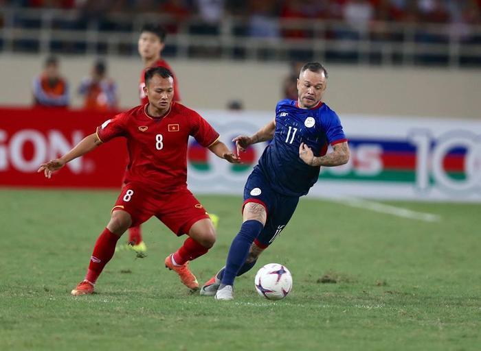 Philippines đã gây nhiều khó khăn cho Việt Nam ở hiệp 1.