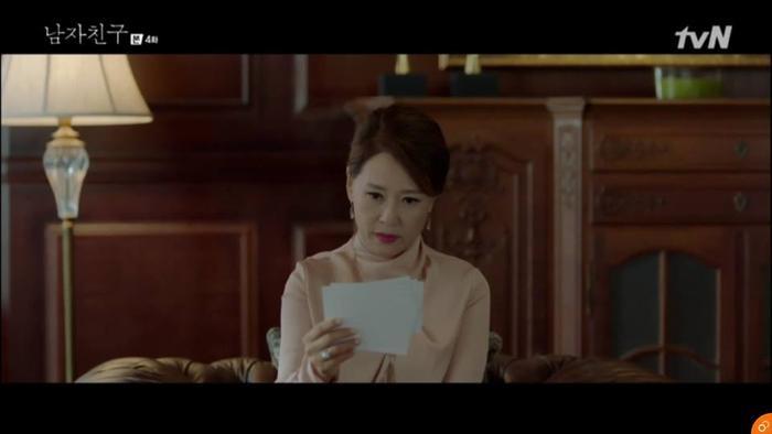 Mẹ chồng cũ đã cho người điều tra Jin Hyuk.
