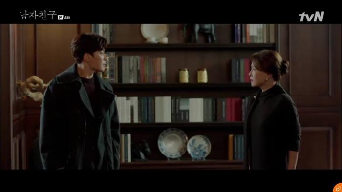Woo Suk tranh cãi với mẹ đòi quyền lợi.