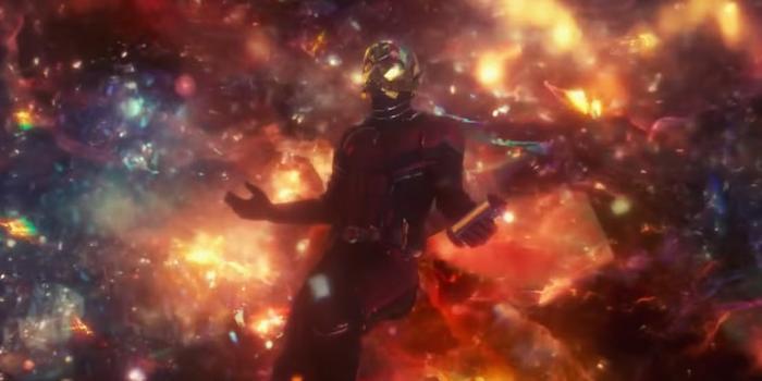 Ant-Man ở giới Lượng Tử.