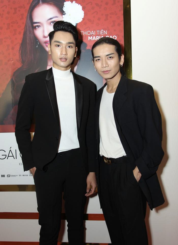 Huy Quang (The Face) và BB Trần