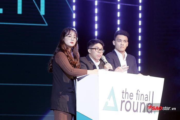 Ở vòng 1, 6 thí sinh chia thành 2 đội và giải quyết một tình huống có thật trong kinh doanh của một doanh nghiệp giả định