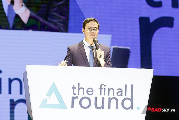 Nguyễn Tùng Lâm giành điểm số gần như tuyệt đối với phần xử lý tình huống khéo léo của mình.