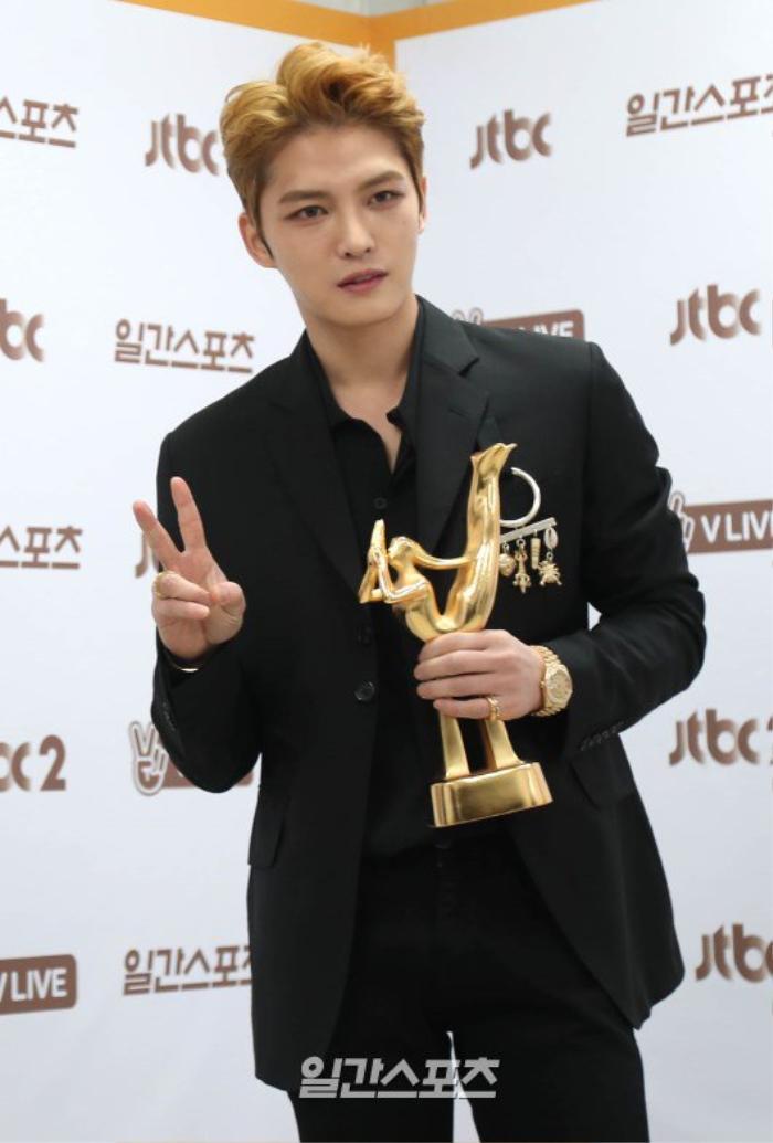 Jae Joong tại GDA 2016.
