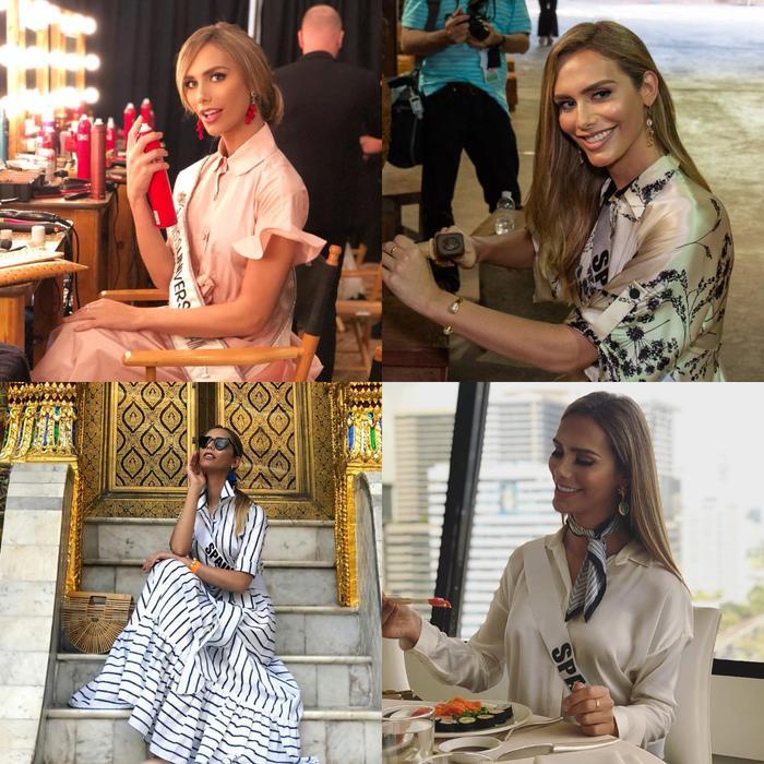 Gu thời trang của Angela Ponce bị đánh giá một màu…