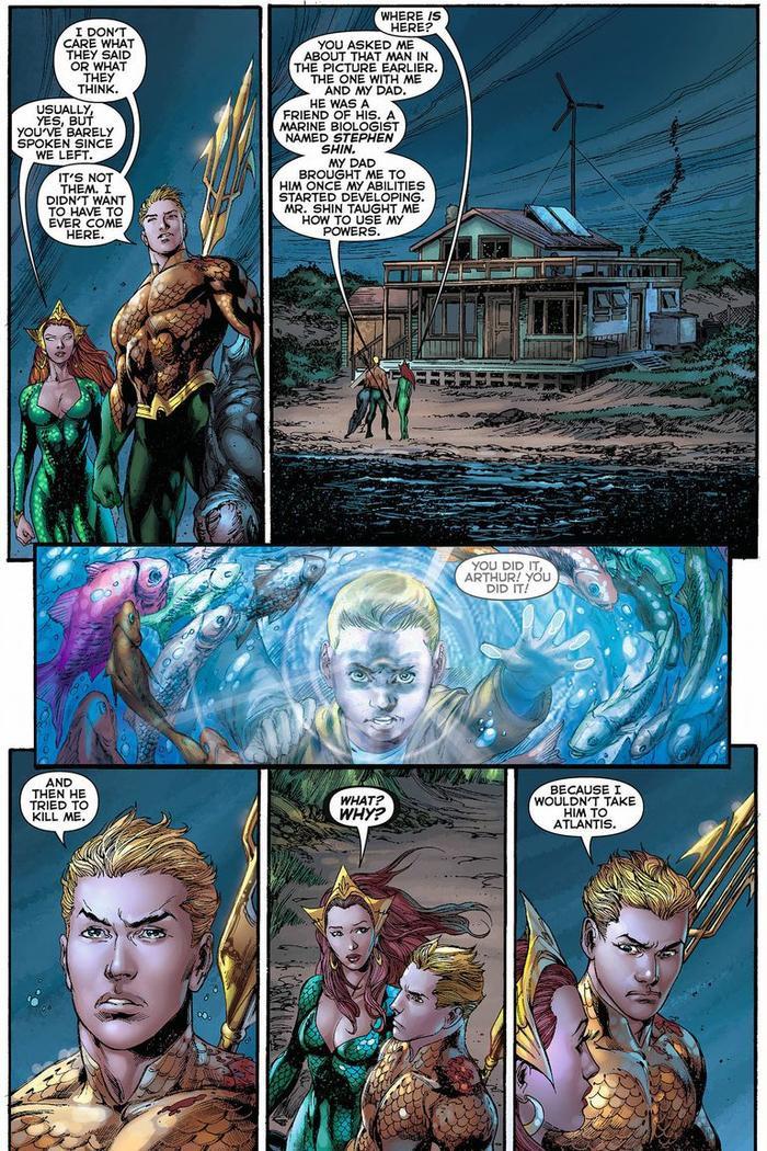 Giải đáp phần after-credit của phim 'Aquaman'