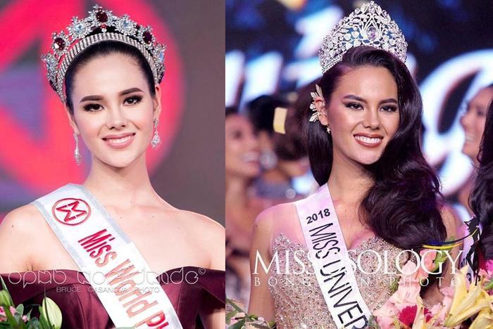 Thế nhưng, Catriona Gray đã phải nỗ lực gấp nhiều lần các mỹ nhân khác để 2 lần chiến thắng cuộc thi tuyển chọn Miss World và Miss Universe tại Philippines.