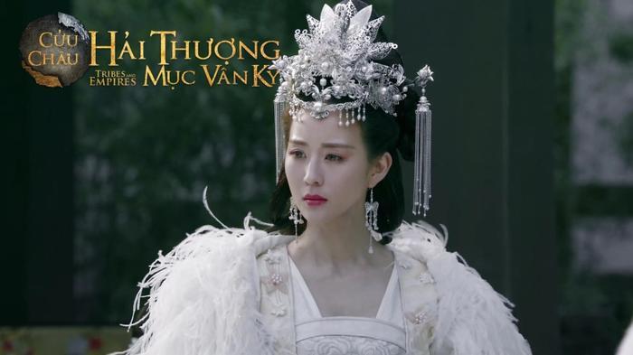 Nhân vật Ngân Dung do Trương Quân Ninh hóa thân vô cùng kiêu sa, đẹp tựa tiên nữ