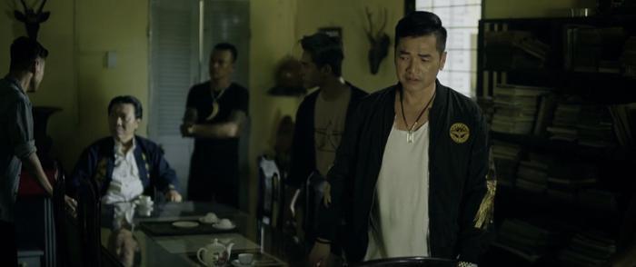 Quang Minh trtong vai Năm Pháo.