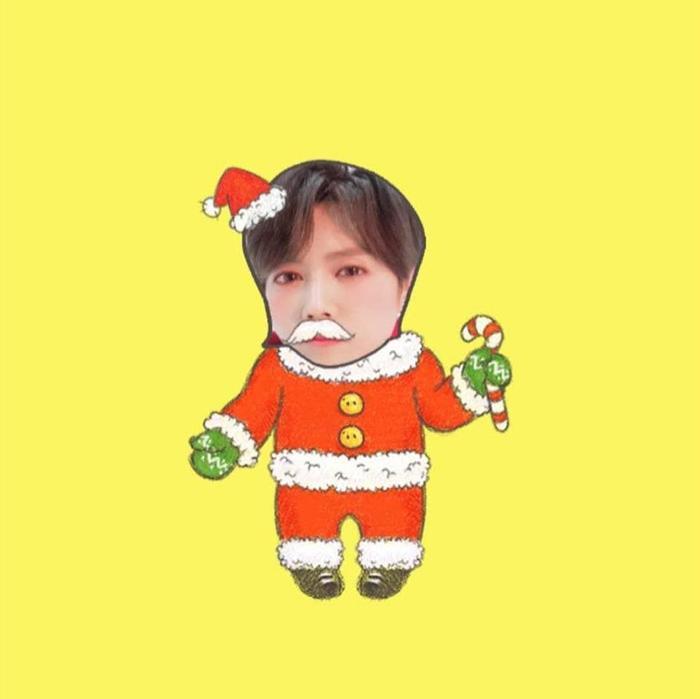 """Luhan phát hành sticker phiên bản """"Luhan Santa"""""""