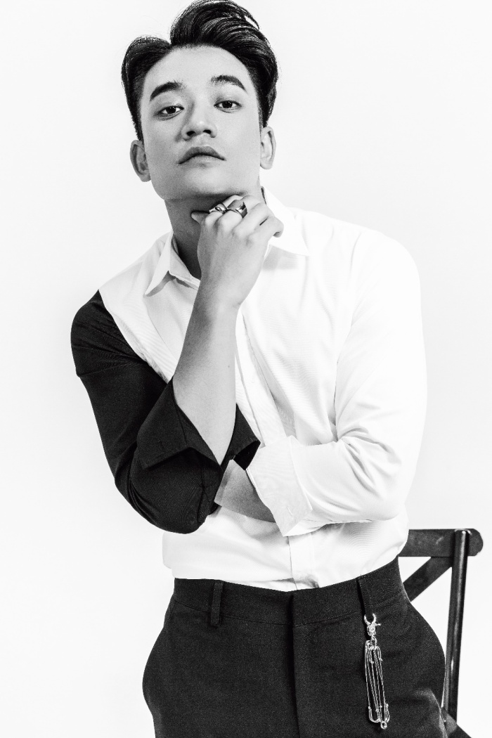 """Samuel An đẹp """"xuất thần"""" trong bộ ảnh kết hợp cùng thương hiệu thời trang nam RUM."""