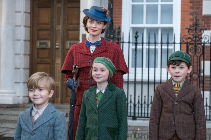 Ba đứa trẻ đáng yêu nhà Banks: Georgie, Annabel và John.