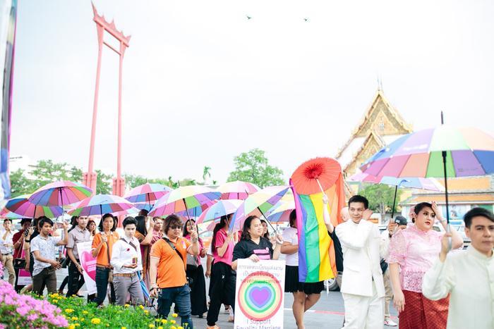 Hoạt động ủng hộ LGBTI luôn nổi trội tại Thái nhưng vẫn gặp phải không ít khó khăn