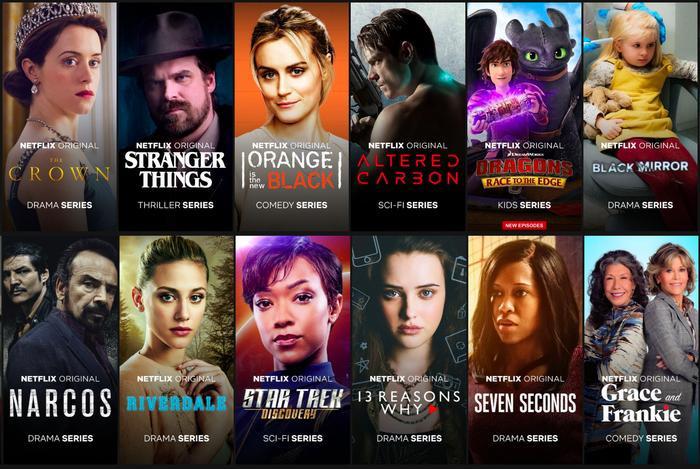"""Cụm từ """"Netflix Original"""" đang dần trở nên uy tín trong giới phát hành phim, bảo đảm độ hot cho các phim mới ra lò."""