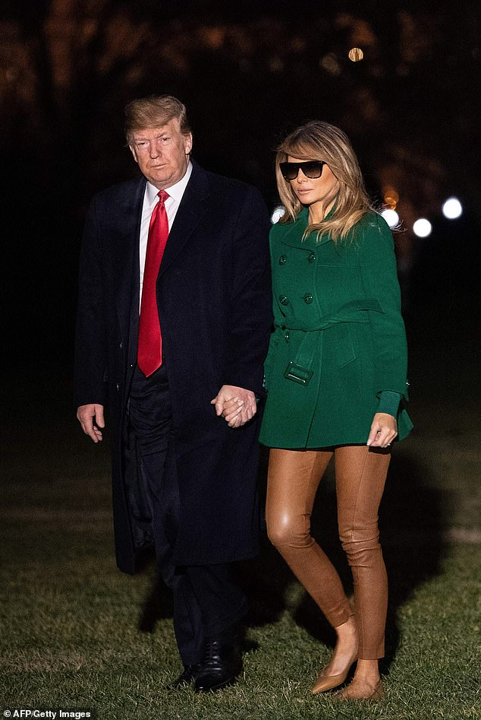 Đệ nhất phu nhân Melania Trump