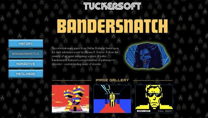 Ngoài đời, game Bandersnatch cũng không bao giờ được phát hành và công ty Tuckersoft đã bị phá sản.