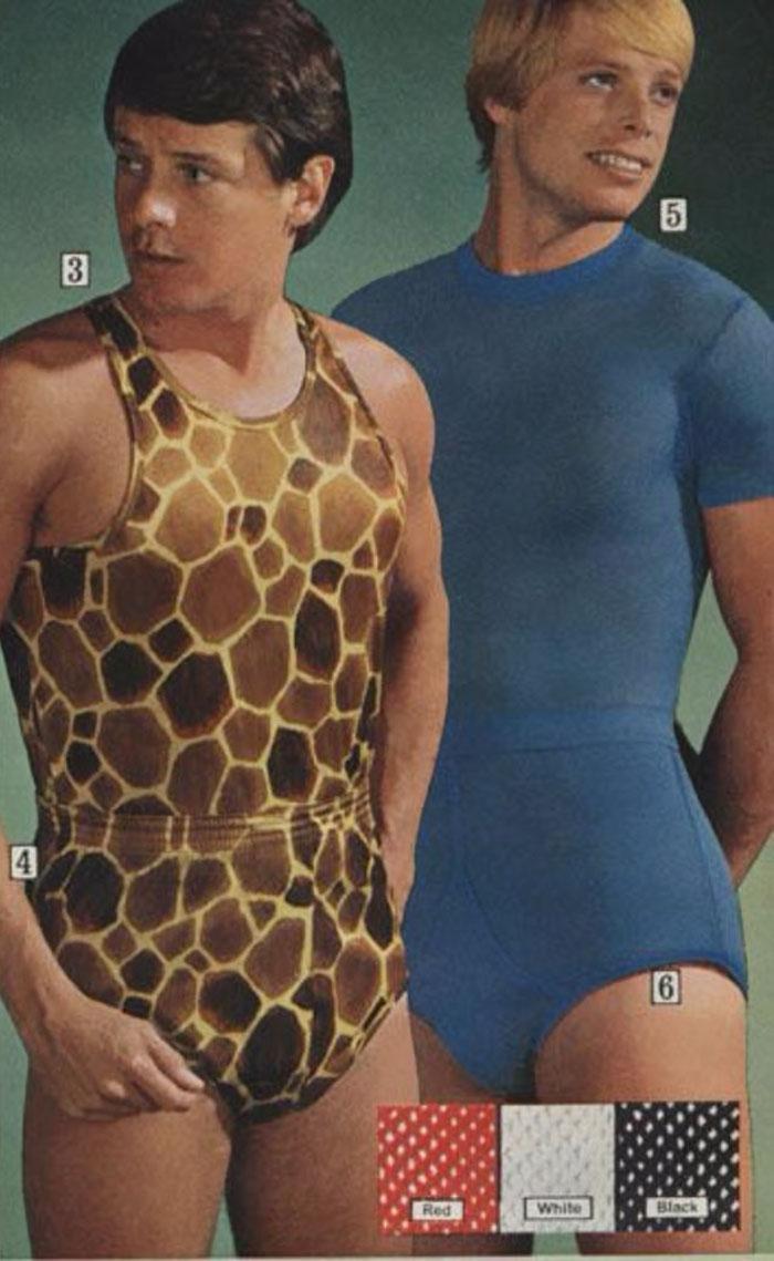 Những thiết kế ôm sát, màu mè từng một thời gây sốt thập niên 70 nhưng đến nay nếu diện ra ngoài sẽ trở thành thảm họa.