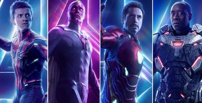 Sau Hiệp ước chỉ có Spiderman, Vision, Iron Man và War Machine được xem là thành viên chính thức