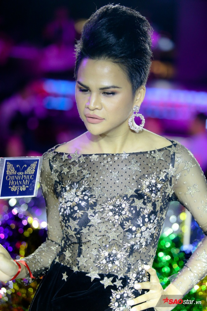 Hoàng My là 1 trong 5 thí sinh vào top nguy hiểm trong tập 4 vì nhận điểm số thấp từ các phóng viên.