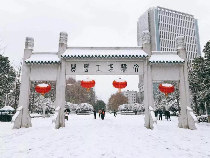 Cổng trường Đại học Vũ Hán