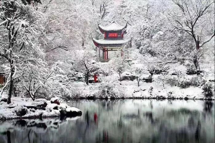 Hình ảnh đẹp như trong phim cổ trang Trung Quốc. Ảnh: tiin.vn