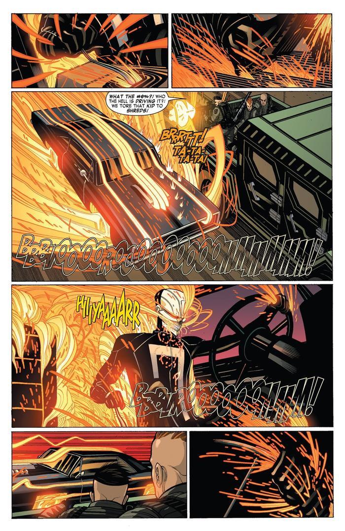 Robbie lái chiếc Hell Charge trong nguyên tác