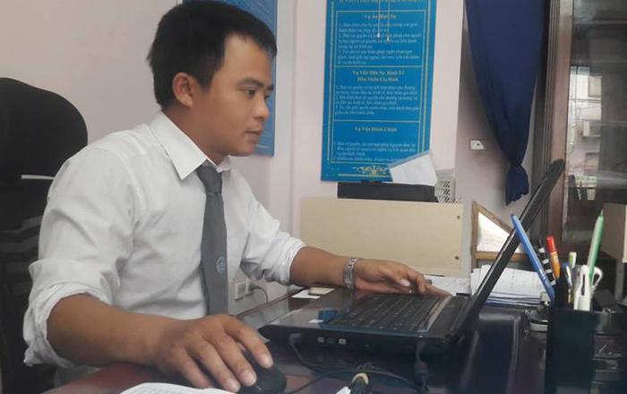 Luật sư Vũ Văn Nho – đoàn luật sư TP Hà Nội.
