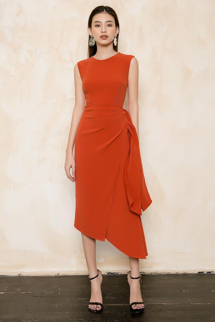 Màu đỏ cam mang đến may mắn và thịnh vượng cho năm mới