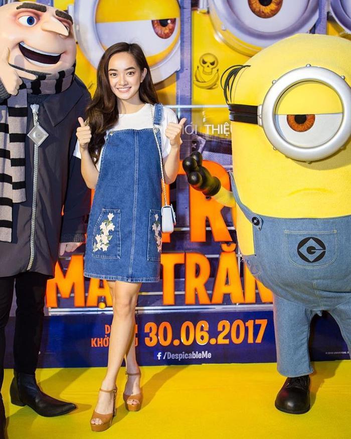 Kaity Nguyễn luôn yêu thích các bộ quần áo cá tính, năng động.