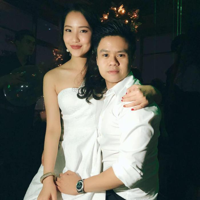Trang cá nhân của Phan Thành cũng thường xuyên đăng ảnh tình cảm của cặp đôi