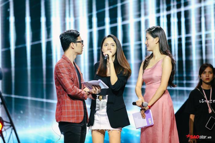 Host Hương Giang để mặt mộc đến sân khấu tổng duyệt chung kết The Tiffany Vietnam.