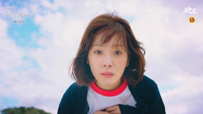 Choáng ngợp trước dung nhan trẻ trung của Han Ji Min ở tuổi 37.