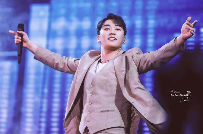 Seungri tại concert HongKong hôm nay.